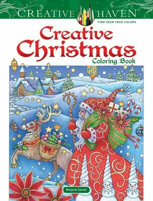 Creative Christmas Coloring Book - Creative Haven