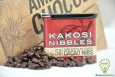 Kakosi Nibbles Tin - Cacao Nibs