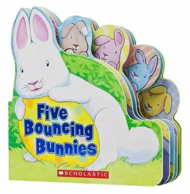 Five Bouncing Bunnies - Board Book