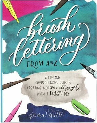 Brush Lettering From A-Z - Witte