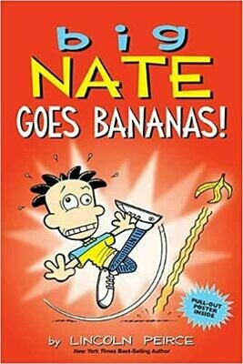 Big Nate Goes Bananas! - Peirce - Paperback