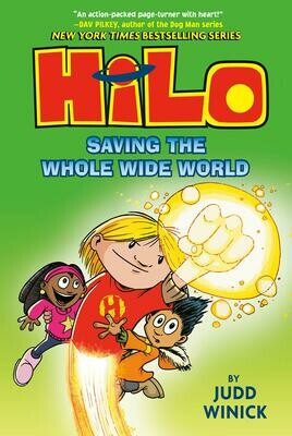 Hilo: Saving The World #2 - Winick - Hardcover