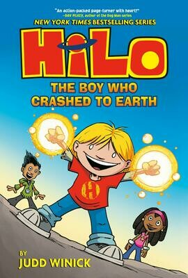 Hilo: The Boy Who Crashed to Earth #1 - Winick - Hardcover