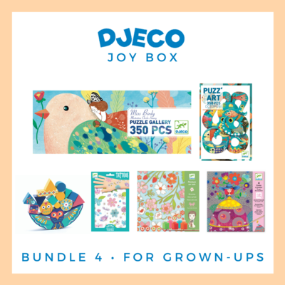 Djeco Joy Box, Older Kids & Grown-Ups - Free Delivery!