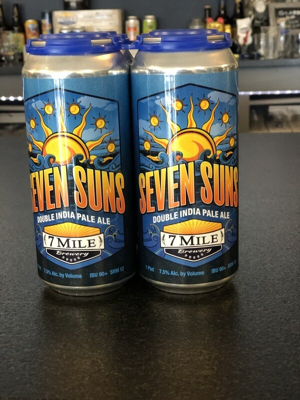 Seven Suns Double IPA (4-Pack)