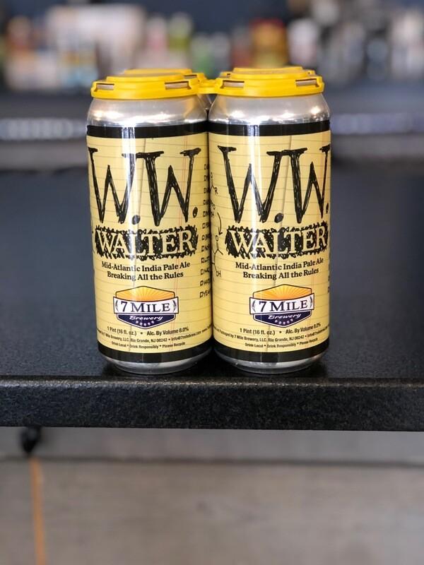 Walter (WW) Mid Atlantic IPA - (4-Pack)