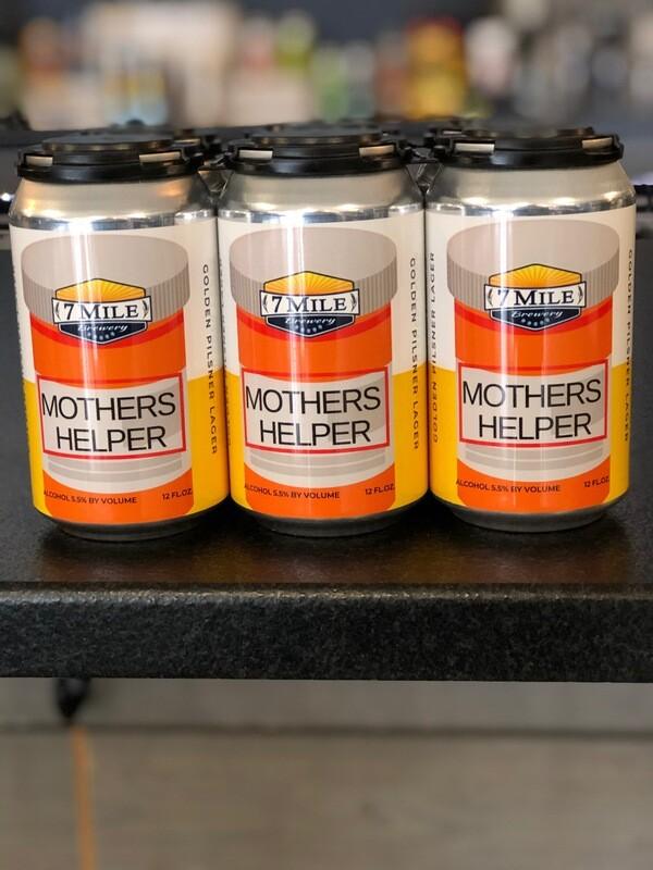 Mothers Helper Golden Pilsner Lager (6-Pack)