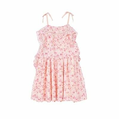 Velveteen Lois Frill Dress