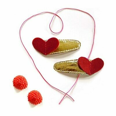 Shisho Sweetheart Clip Red
