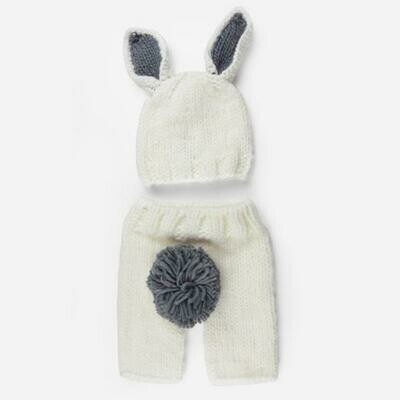 Blueberry White/Gry BunnyPant