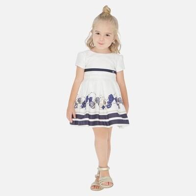 Mayoral Bow Print Dress