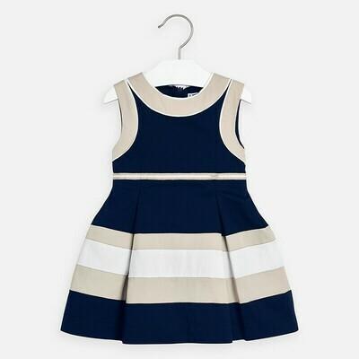 Mayoral 3939 Navy Block Dress