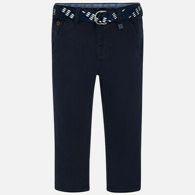 Mayoral Navy Pant with Belt