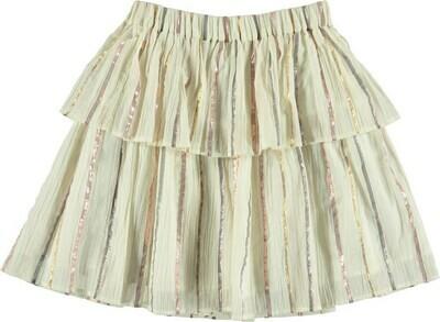 Molo Brooke Metallic Skirt