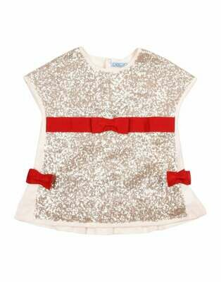 Mimisol Red Bow Top