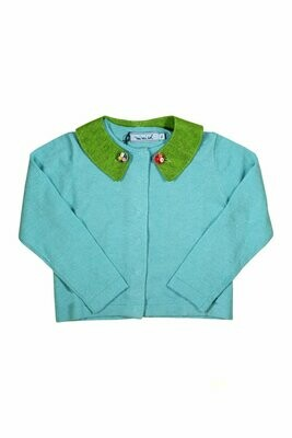 Mimisol Aqua Sweater