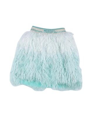 Mimisol Aqua Feather Skirt