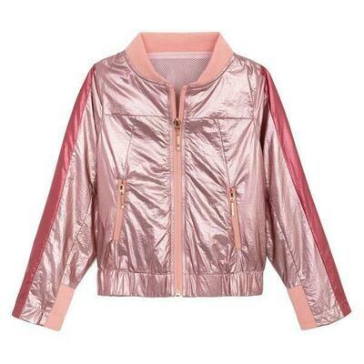 Ustabelle Pink Bomber Jacket