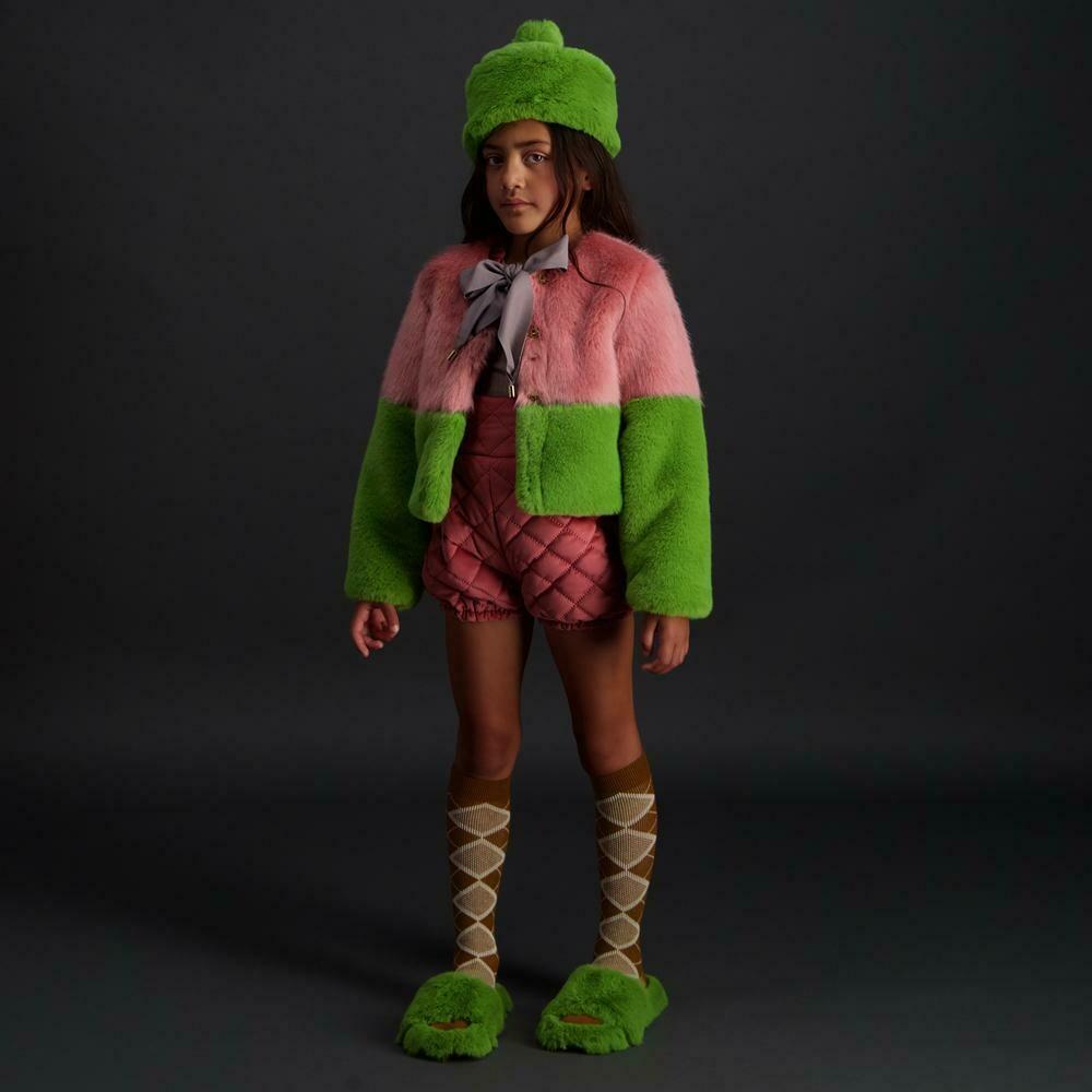 Carbon Soldier Snug Faux Fur Jacket