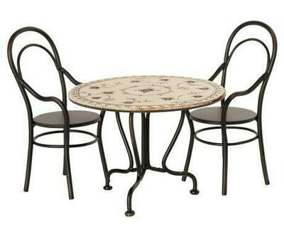Maileg Dining Table set 2 Chairs
