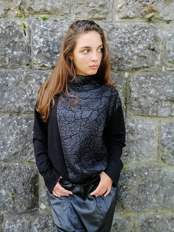 Shirt black ALEMBIKA