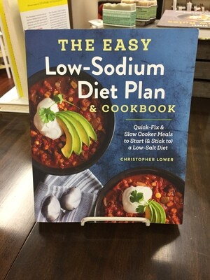 Easy Low Sodium Diet Plan and Cookbook