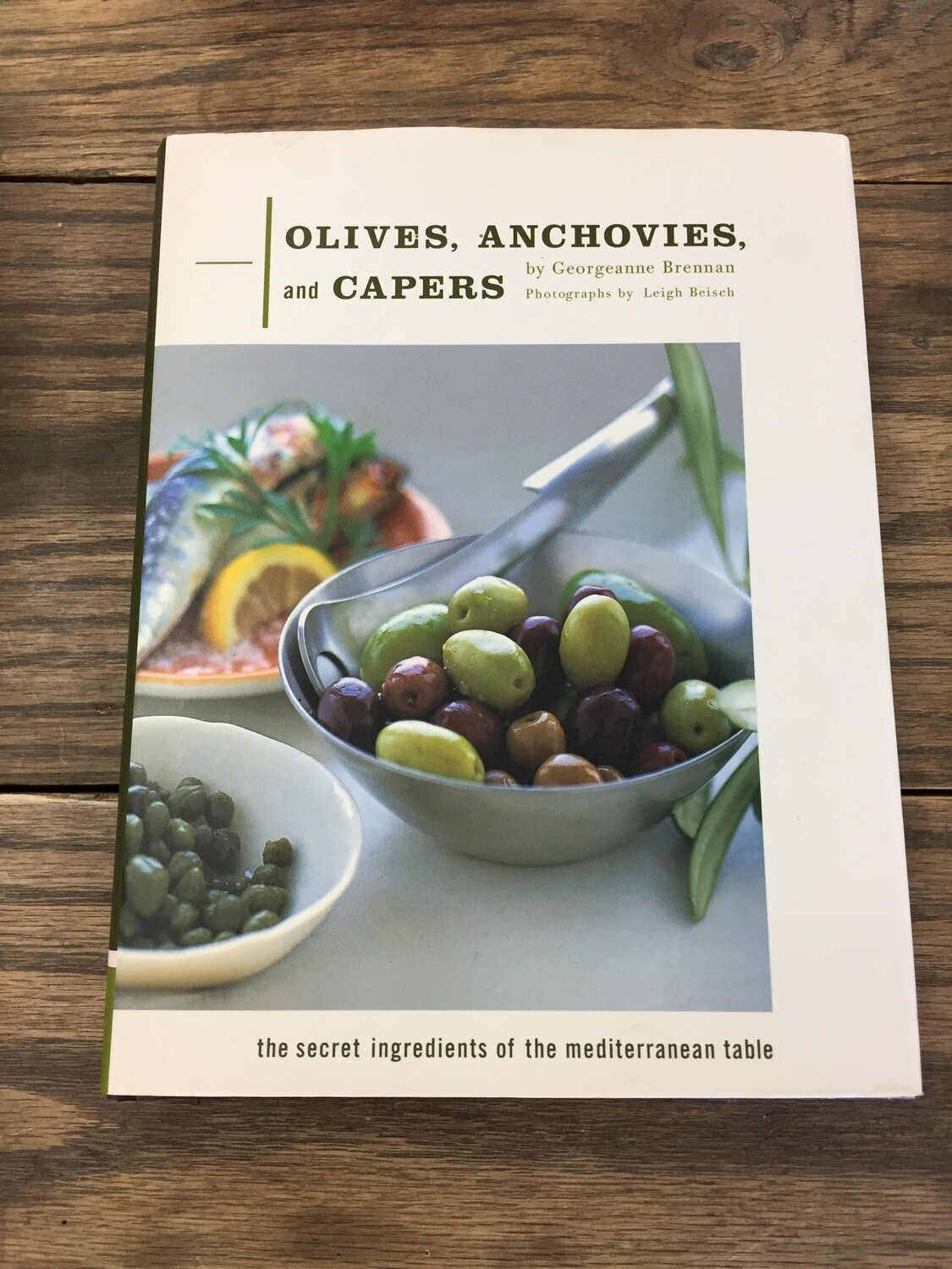 Olives, Anchovies, and Capers