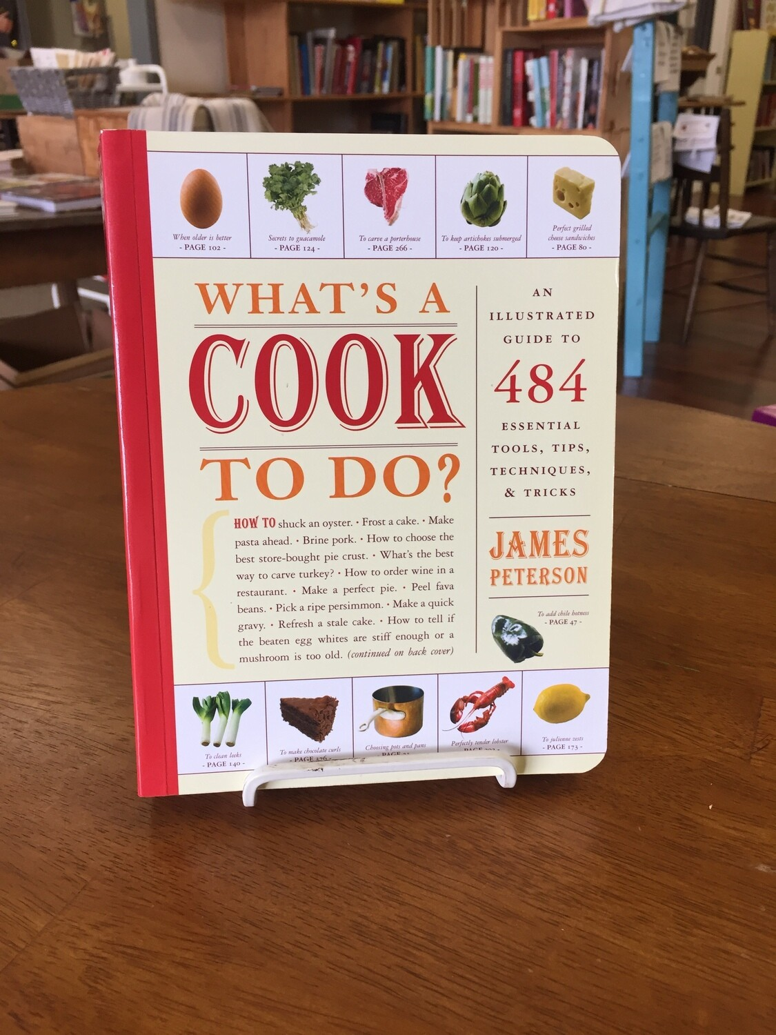 What's a Cook to do?