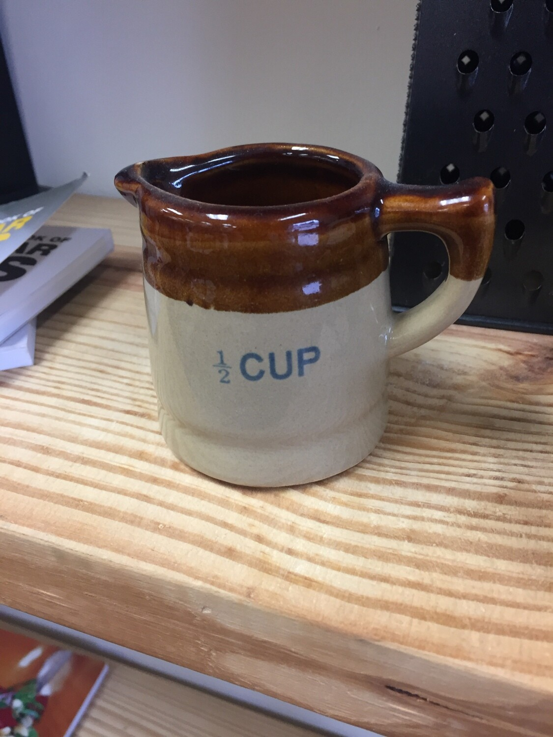 1/2 cup measuring pitcher
