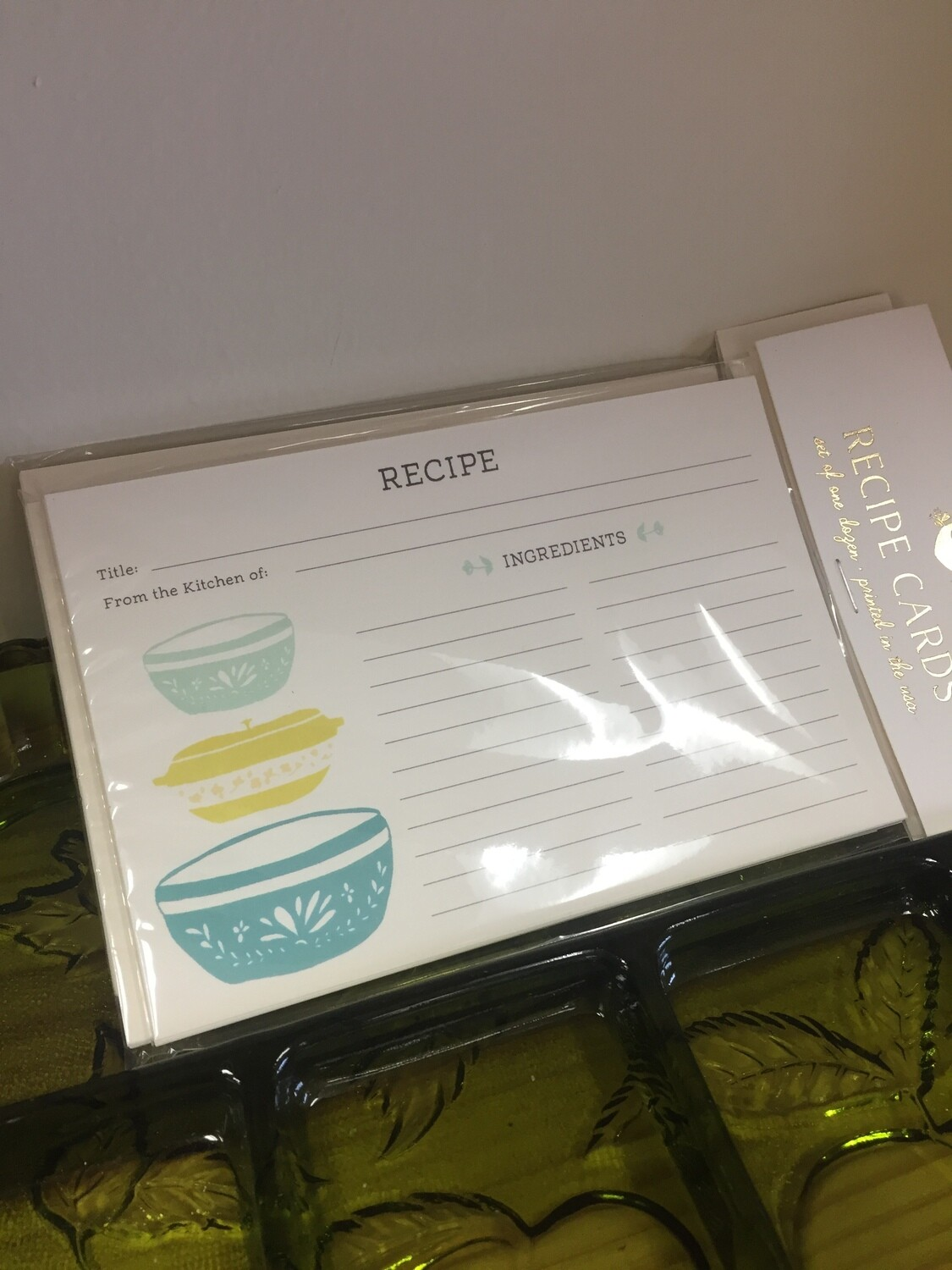 Mixing Bowl Recipe Cards