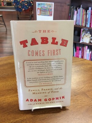 The Table Comes First