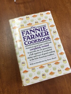 The Fannie Farmer Cookbook 1989