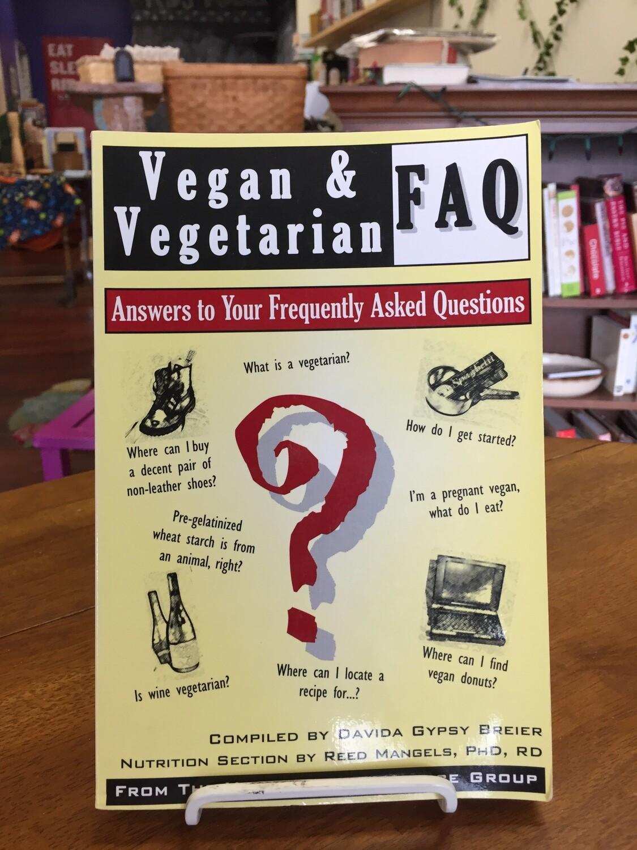 Vegan & Vegetarian FAQ