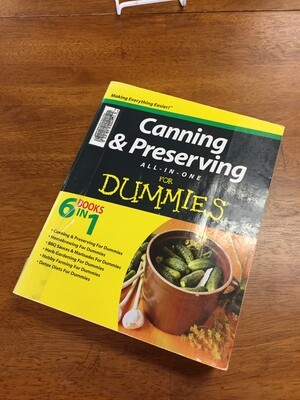 Canning and Preserving for Dummies