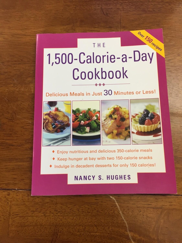 1,500 Calorie a Day Cookbook