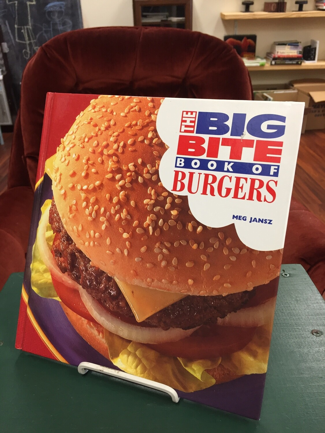 The Big Bite Book of Burgers