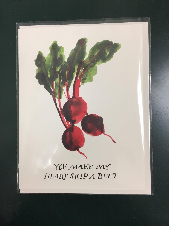 Skip a Beet Card