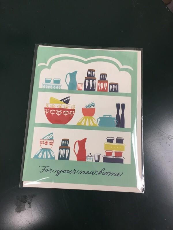 Vintage Housewarming Card