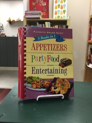 3 Books in 1 - Appetizers, Party Food, Entertaining