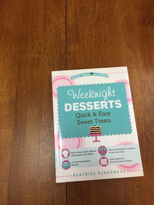 Weeknight Desserts