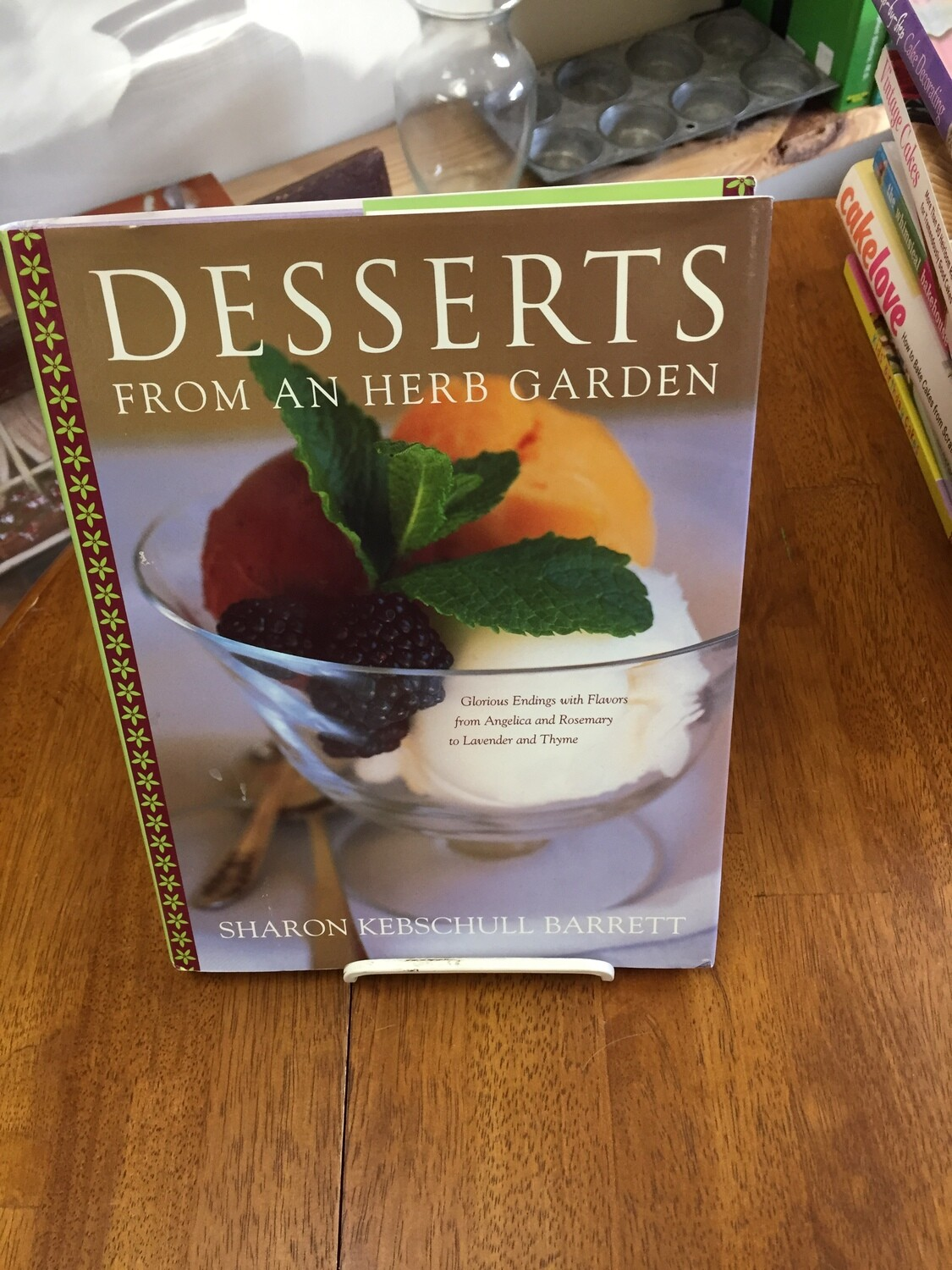 Desserts from an Herb Garden
