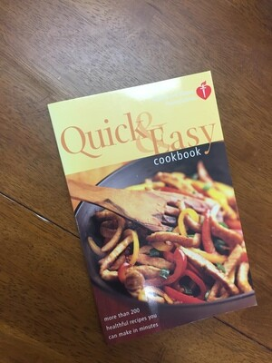AHA Quick and Easy Cookbook