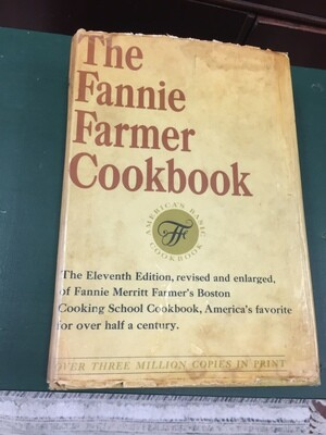 The Fannie Farmer Cookbook 1965