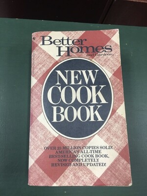 Better Homes and Gardens New CookBook Paperback