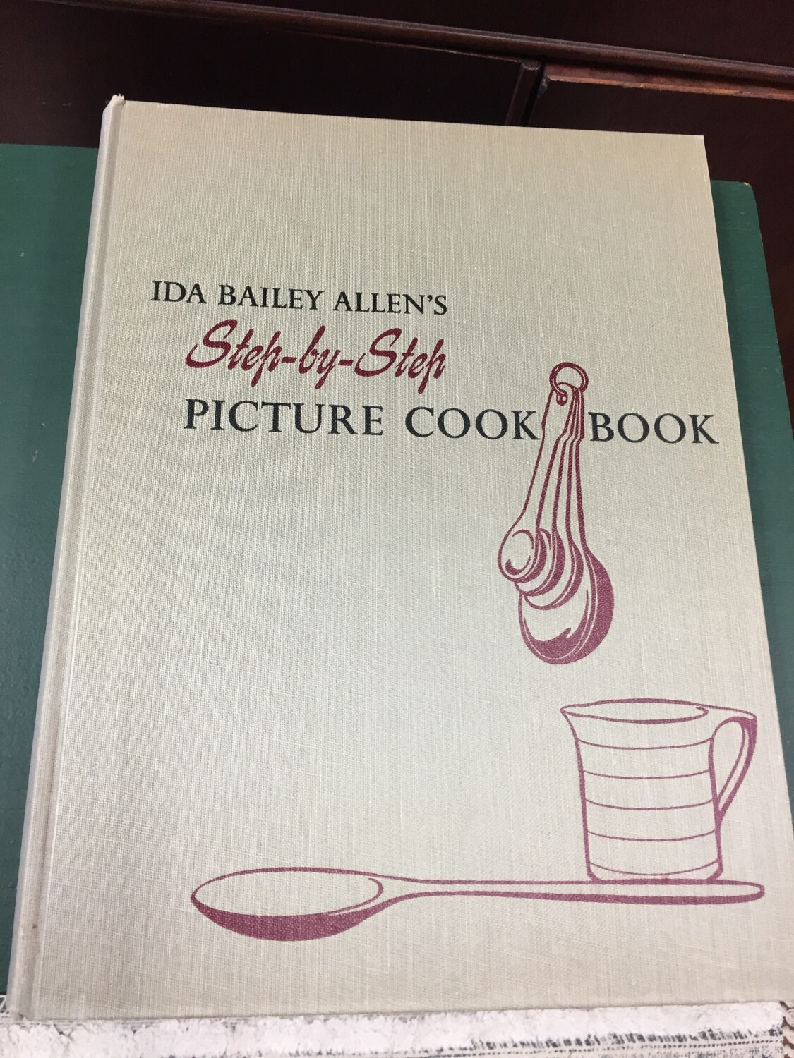 Step by Step Picture Cook Book 1952