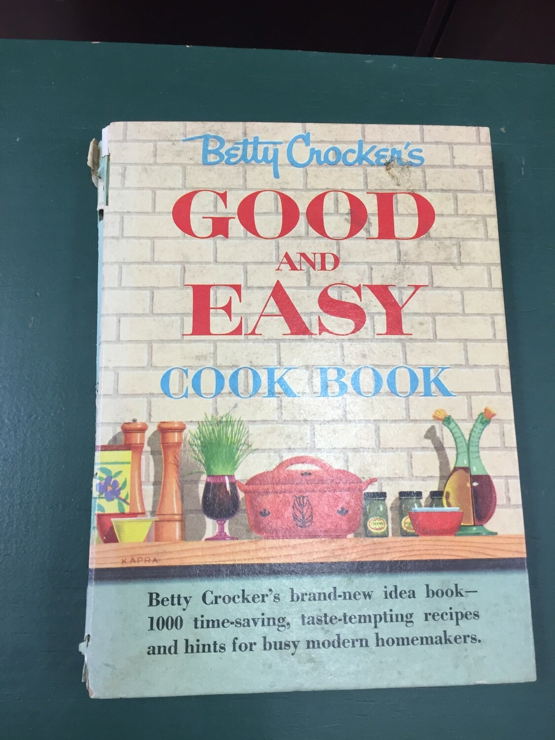 Good and Easy Cookbook