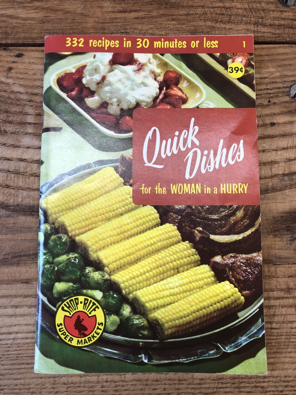 Quick Dishes for the Woman in a Hurry
