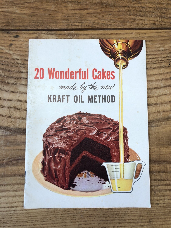 20 Wonderful Cakes made by the Kraft oil method