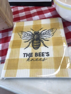 Bee's Knees Organic Dish Cloth