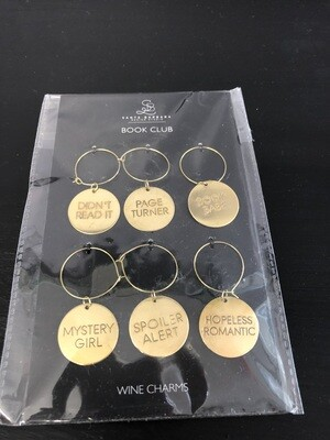 Wine Charms - Book Club